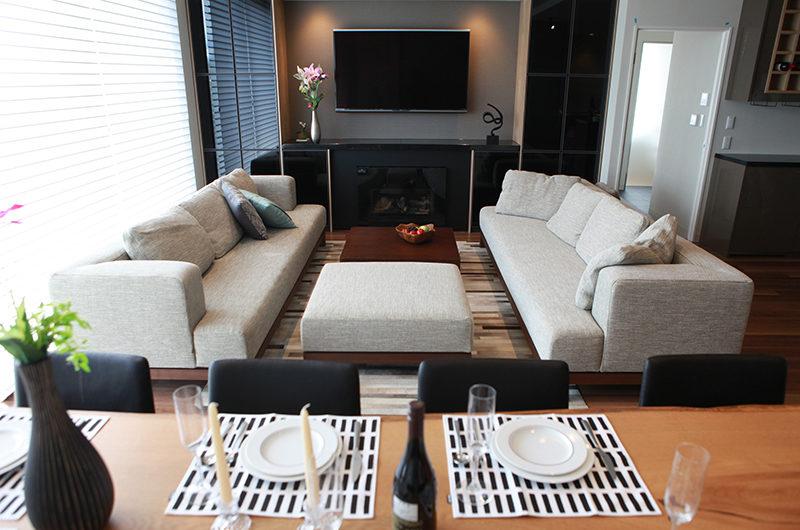 Hirafu 188 Apartments TV Area | Upper Hirafu