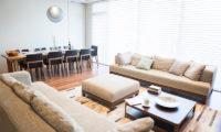 Hirafu 188 Apartments Indoor Living and Dining Area | Upper Hirafu