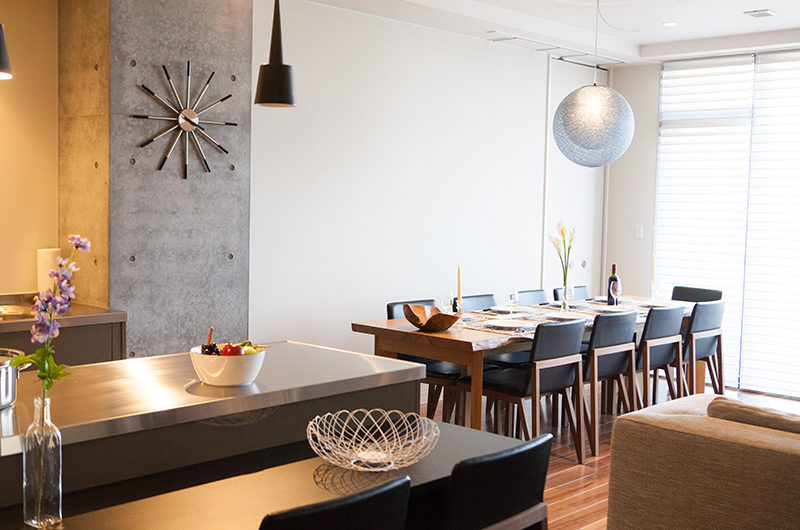 Hirafu 188 Apartments Indoor Dining Area | Upper Hirafu