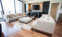 Hirafu 188 Apartments Living Area with TV | Upper Hirafu