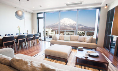Hirafu 188 Apartments Living and Dining Area | Upper Hirafu