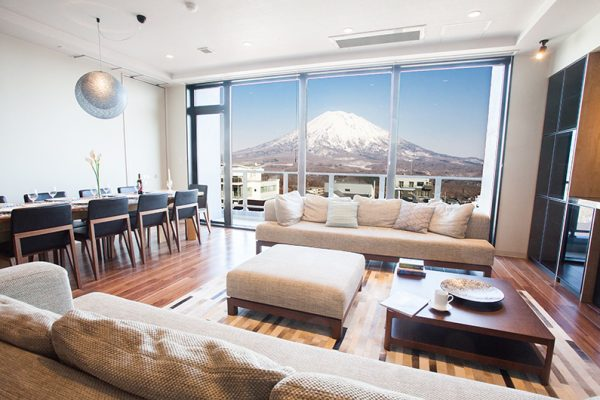Hirafu 188 Apartments Living and Dining Area | Upper Hirafu