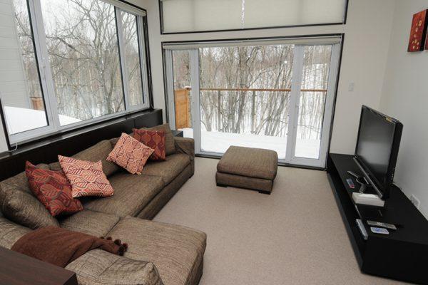 Neyuki Townhouses TV Room with Lounge | Middle Hirafu