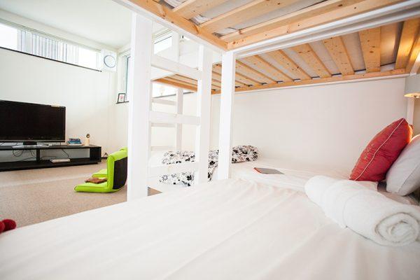 Neyuki Townhouses Bunk Beds | Middle Hirafu