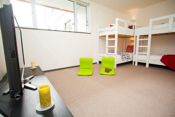 Neyuki Townhouses Bunk Beds with TV | Middle Hirafu