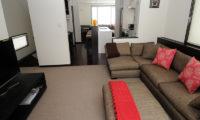 Neyuki Townhouses Lounge Area with TV | Middle Hirafu