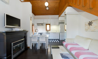 Nupuri Cottage Kitchen Living and Dining Area | Lower Hirafu