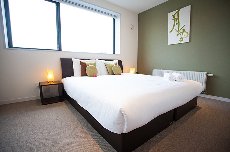 Powder Haven Bedroom with Carpet | Lower Hirafu