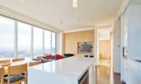 Snow Crystal Kitchen Area | Upper Hirafu