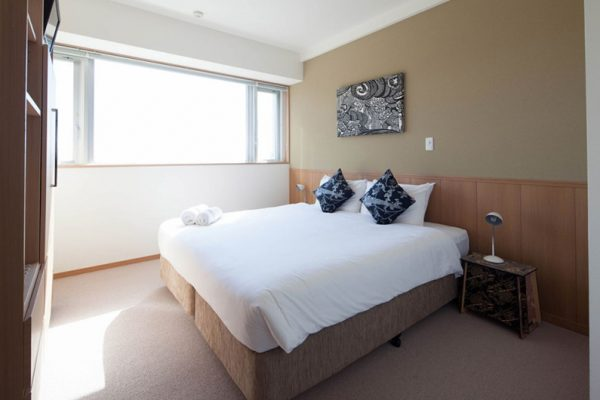Snow Crystal Bedroom with Carpet | Upper Hirafu