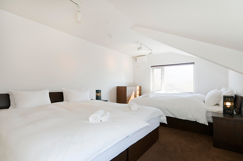 Sugarpot Double Beds | Lower Hirafu