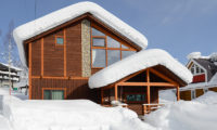 Tahoe Lodge Exterior with Snow | East Hirafu