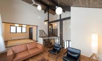 Tahoe Lodge Japanese Style Living Room | East Hirafu