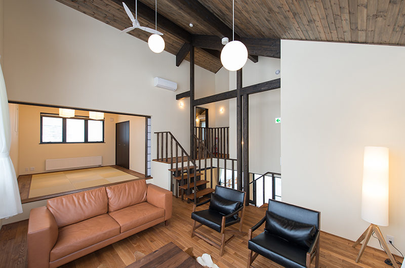 Tahoe Lodge Japanese Style Living Room   East Hirafu