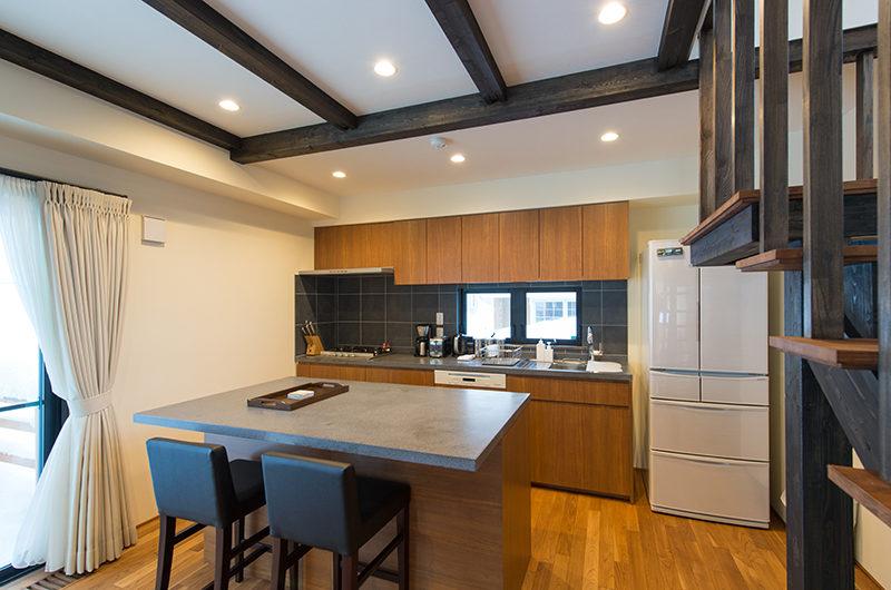 Tahoe Lodge Kitchen and Dining | East Hirafu
