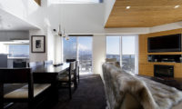 The Setsumon Living and Dining Area with Carpet | Upper Hirafu