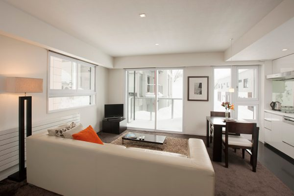 The Setsumon Living and Dining Area | Upper Hirafu