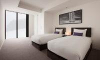 The Vale Niseko Twin Room Configuration | Upper Hirafu
