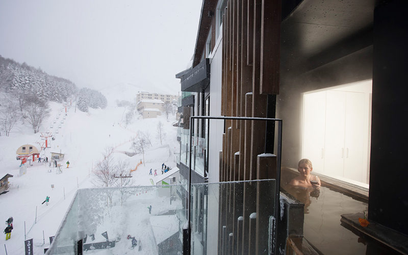 Ski View with Onsen Room