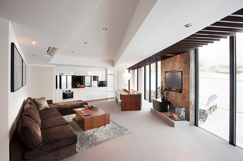 The Vale Niseko Living Room | Upper Hirafu