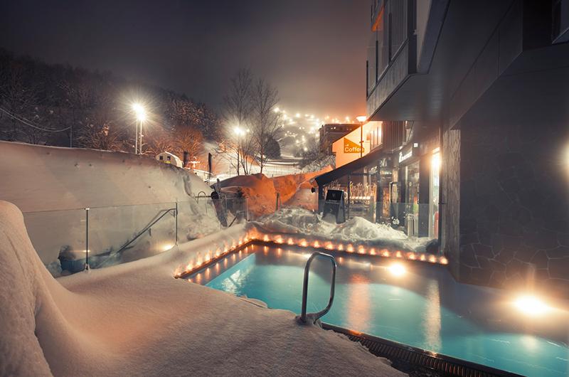 The Vale Niseko Indoor Outdoor Heated Pool | Upper Hirafu