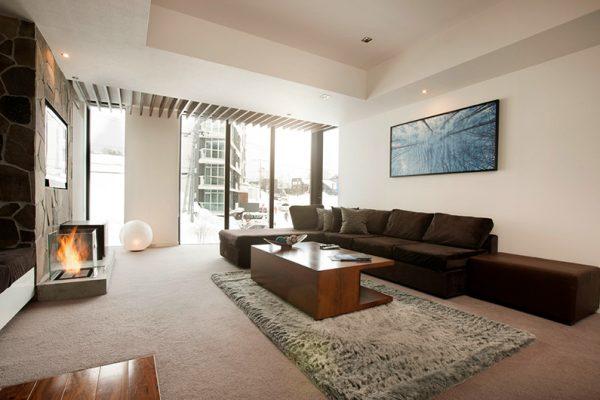 The Vale Niseko Lounge Area | Upper Hirafu