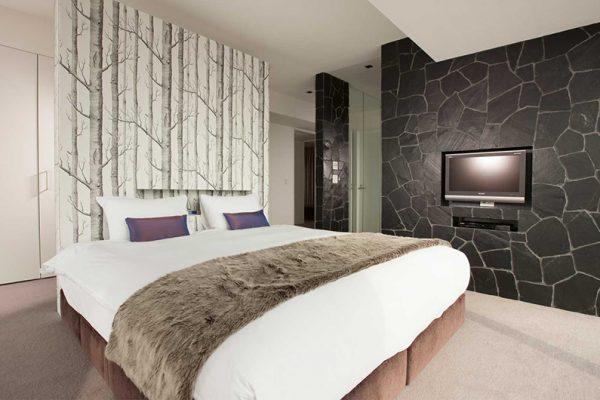 The Vale Niseko Penthouse Master Bedroom | Upper Hirafu