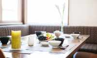 Toshokan Townhouses Fruits on Dining Table | Middle Hirafu