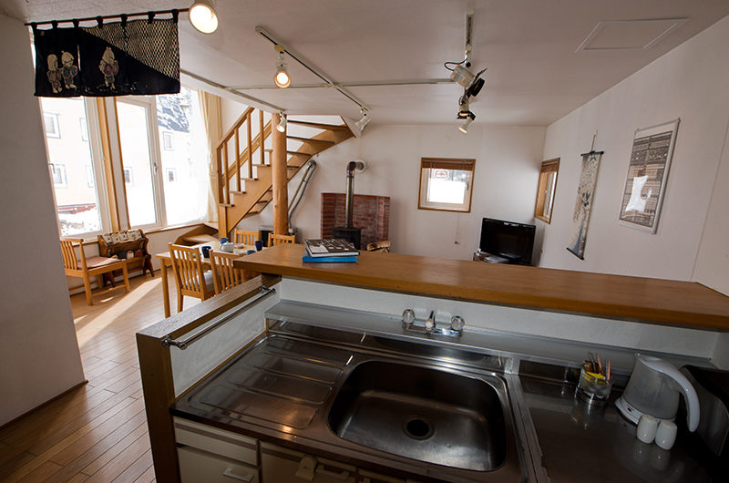 Yotei Cottage Kitchen and Dining Area | Lower Hirafu