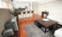 Yuki Yama Apartments Living and Dining Area | Middle Hirafu