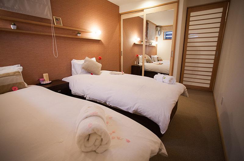 Yuki Yama Apartments Twin Bedroom | Middle Hirafu