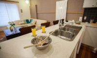 Yuki Yama Apartments Living and Kitchen Area | Middle Hirafu