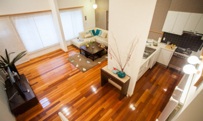 Yuki Yama Apartments Living Area | Middle Hirafu