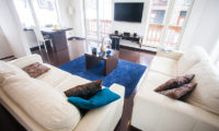 Yukisawa House Living Area with TV | Lower Hirafu