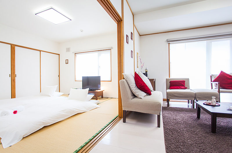 Yume House Bedroom View | Middle Hirafu