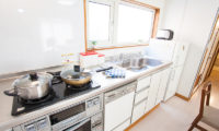 Yume House Kitchen with Utensils | Middle Hirafu