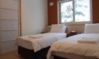 Yutaka Townhouses Twin Bedroom | Middle Hirafu