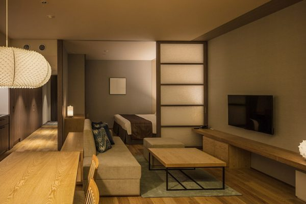 Aya Niseko One Bedroom TV Room | Upper Hirafu