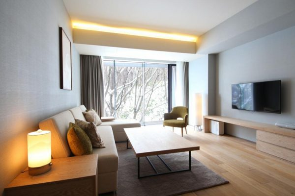 Aya Niseko Two Bedroom TV Room | Upper Hirafu