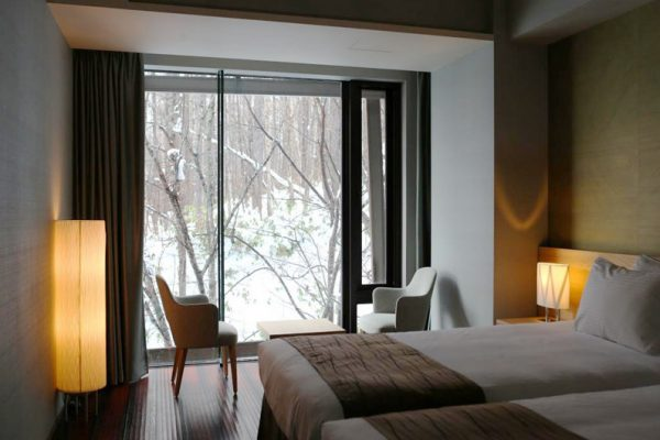 Aya Niseko Two Bedroom Twin Bedroom with View | Upper Hirafu