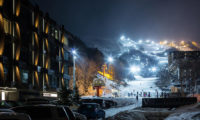 Aya Niseko Hotel Night View | Upper Hirafu