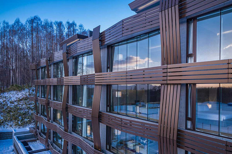 Aya Niseko Hotel Outdoor View | Upper Hirafu