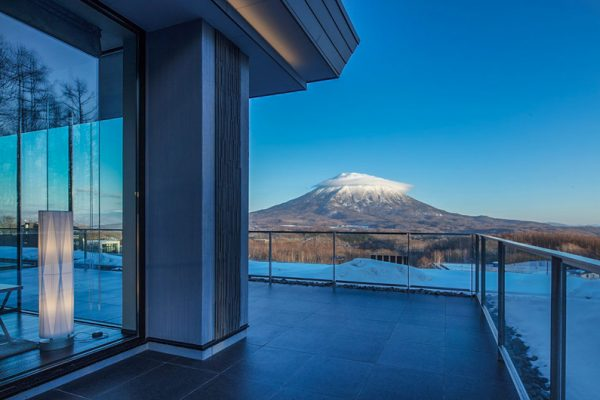 Aya Niseko Penthouse Two Mountain View from Balcony | Upper Hirafu