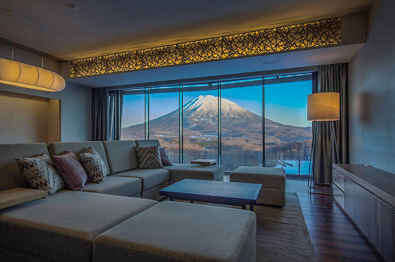 Aya Niseko Penthouse Two Living Area | Upper Hirafu