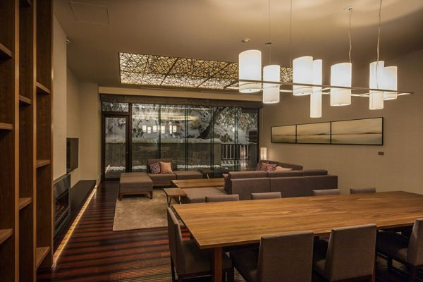 Aya Niseko Residence B 102 Living and Dining Area | Upper Hirafu