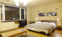 Ebina Chalet and Lodge Bedroom with Seating Area   Moiwa