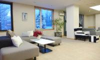 Ebina Chalet and Lodge Lounge Area with Carpet   Moiwa