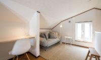 Kuma Cabin Bedroom with Study Table and Sofa | Lower Hirafu