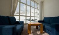 Owashi Lodge Lounge Area with Mountain View | Upper Hirafu