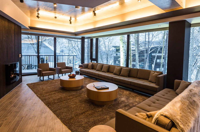 Haven Niseko Penthouse Living Area | Middle Hirafu